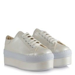 Gelin Ayakkabısı Spor Model Bağcıklı