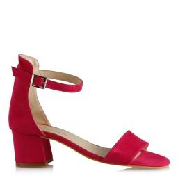 Az Topuklu Ayakkabı Fujya Süet
