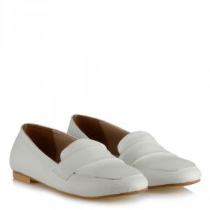 Babet Ayakkabı Beyaz Renk