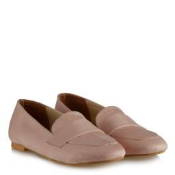 Babet Ayakkabı Pudra Süet