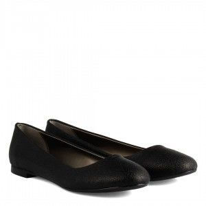 Babet Ayakkabı Siyah Damarlı