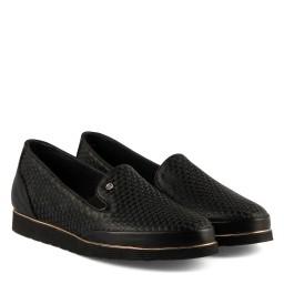 Düz Deri Ayakkabı Siyah