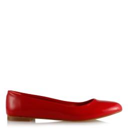 Babet Ayakkabı Kırmızı Rugan
