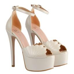 Свадебная Обувь Принт Скарлупа Мидии