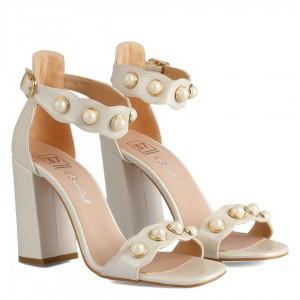 Nikah Ayakkabısı İncili Bilekli