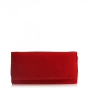 Portföy Çanta Kırmızı Süet