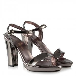 Topuklu Ayakkabı Füme Ayna Tek Bantlı