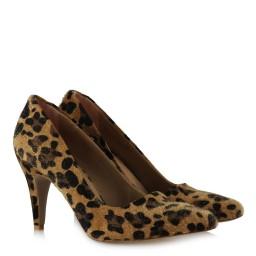Leopar Stiletto Ayakkabı