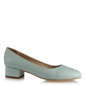 Alçak Topuklu Bebe Mavi Ayakkabı