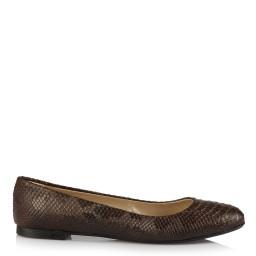 Babet Ayakkabı Kahverengi Crocodile