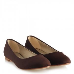 Babet Ayakkabı Kahverengi Süet