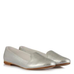 Babet Ayakkabı Lame Yaldızlı Dilli
