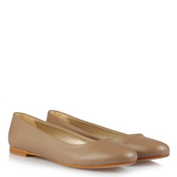 Babet Ayakkabı Mat Vizon Rengi