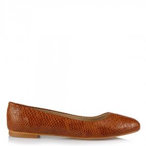 Babet Ayakkabı Taba Crocodile