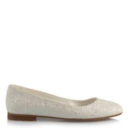 Babet Gelin Ayakkabı Beyaz Cam Kırığı