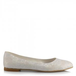Beyaz Dantel Gelinlik Babeti
