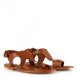 Bodrum Sandaleti Parmak Arası Taba Rengi