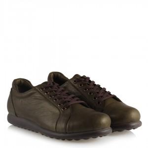Deri Ayakkabı Haki Rengi