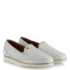 Deri Ayakkabı Rahat Model Beyaz