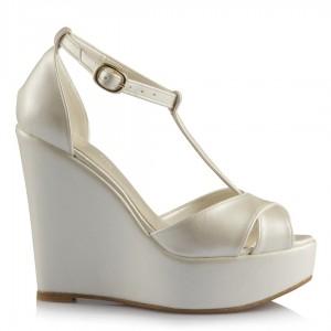 Düğün Ayakkabısı Dolgu Topuk