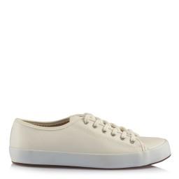 Gelin Ayakkabısı Kırık Beyaz Deri Vans