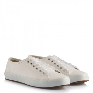 Gelin Ayakkabısı Vans Kırık Beyaz Keten