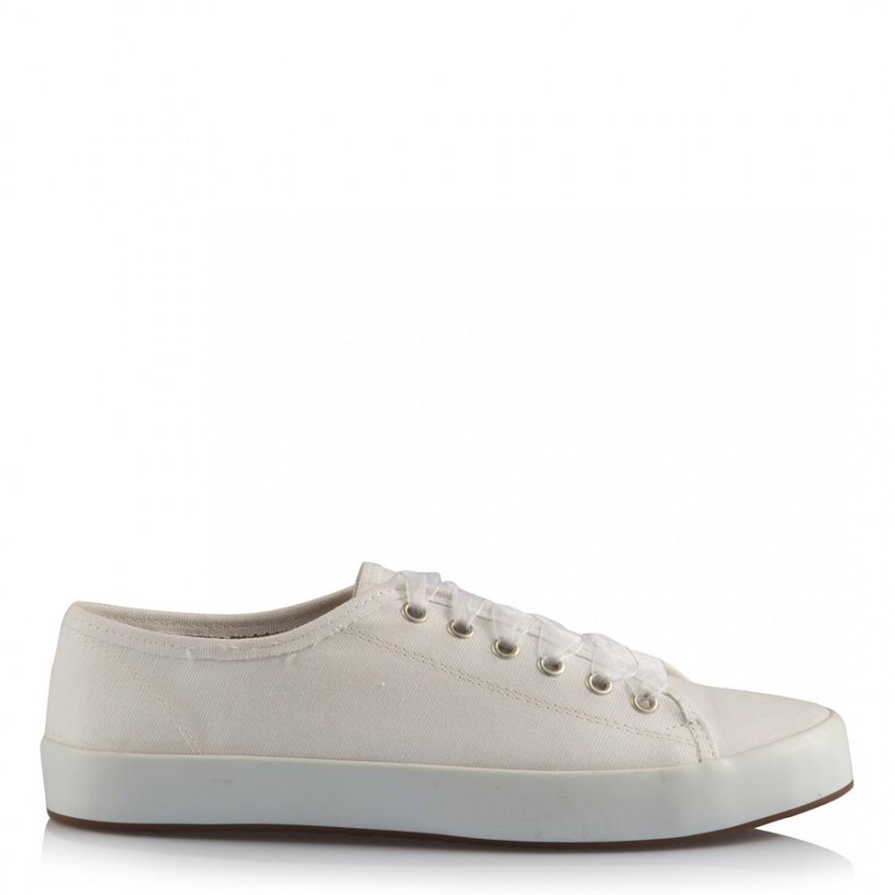 d554903e68 Gelin Ayakkabısı Vans Kırık Beyaz Keten