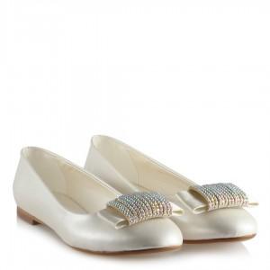 Gelin Babeti Kırık Beyaz Taşlı Model