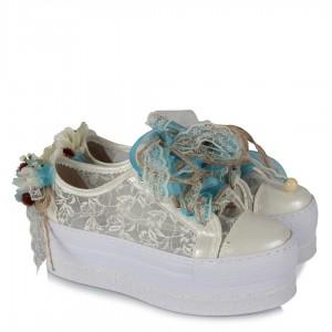 Gelinlik Ayakkabısı Rahat Spor Tasarım Modeller