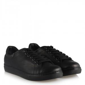 Hakiki Deri Comfort Siyah Ayakkabı