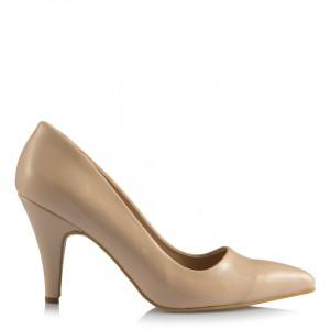 Kadın Ten Stiletto Ayakkabı