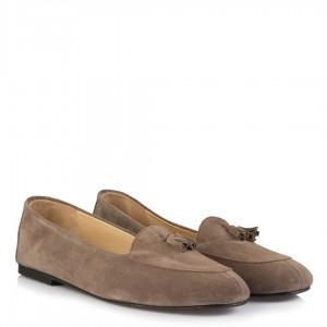 Loafer Ayakkabı Bayan Vizon Rengi