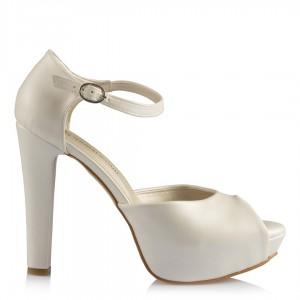 Nikah Ayakkabısı Kırık Beyaz Şık Modeller