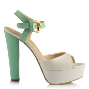 Nikah Ayakkabısı Sedef  Su Yeşili Yazlık Model