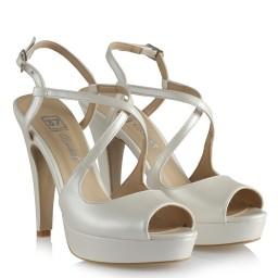 Свадебная Обувь На Каблуках С Перекрещенным Ремешком