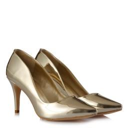 Stiletto Ayakkabı Dore Ayna