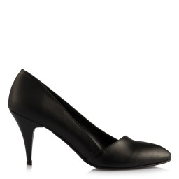 Stiletto Ayakkabı Siyah Çapraz