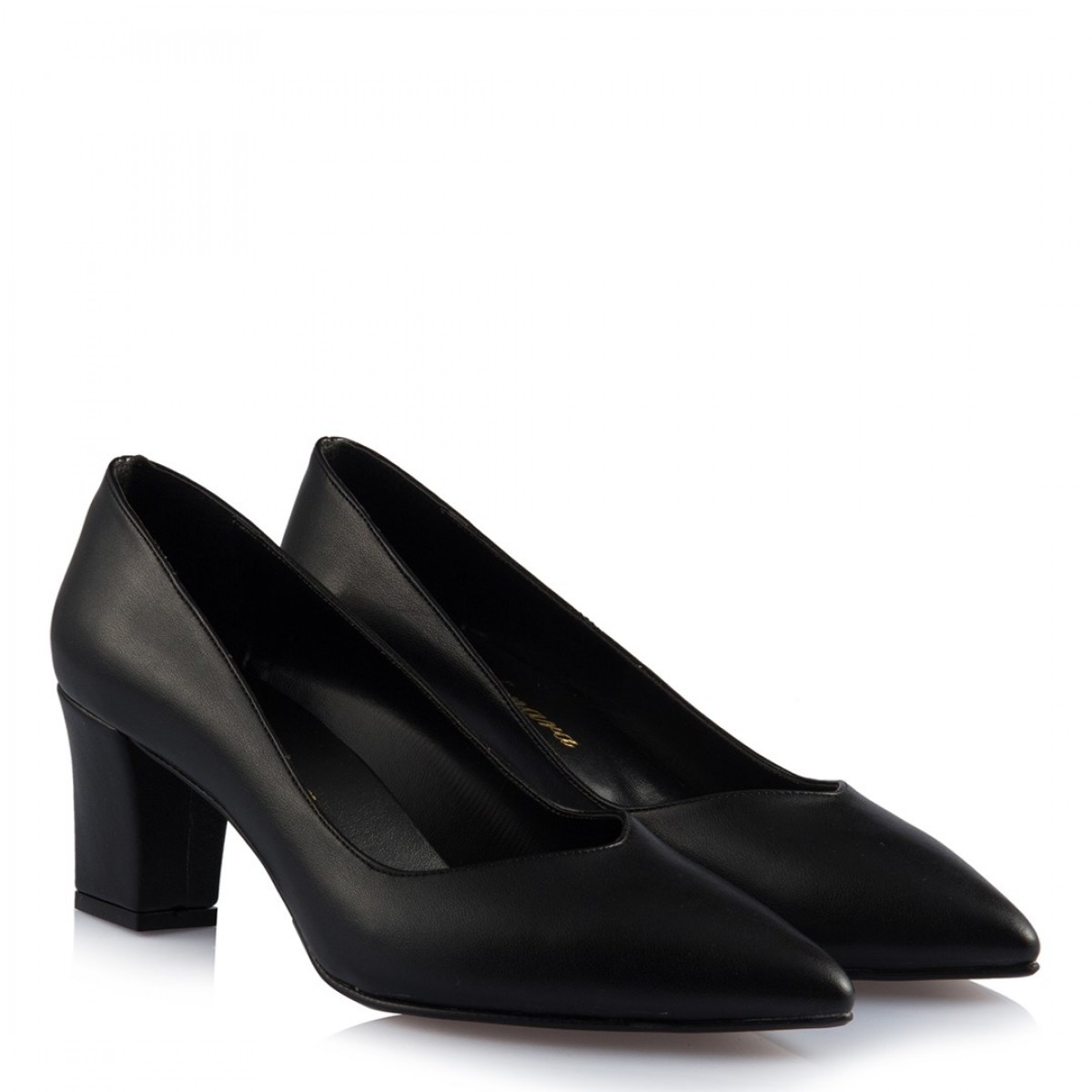 Stiletto Ayakkabı Siyah Mat