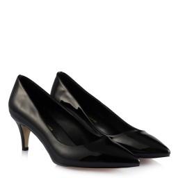 Лаковые Черные Туфли На Маленьком Каблуке