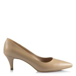Лаковые Туфли На Маленьком Каблуке Цвет Телесный