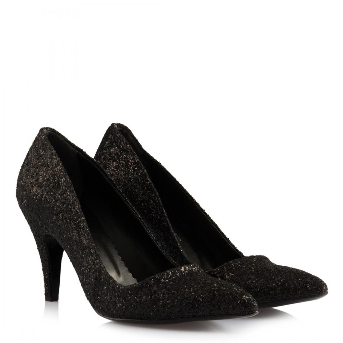 Stiletto Siyah Cam Kırığı