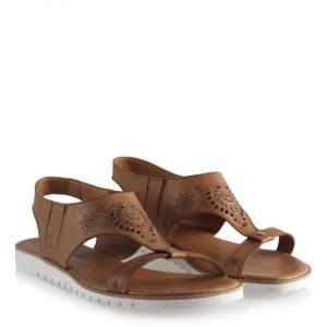 Taba Hakiki Deri Sandalet