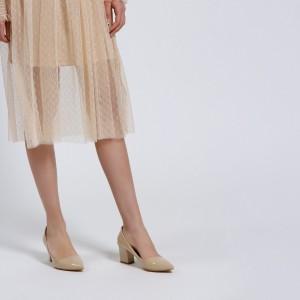 Ten Rugan Kalın Topuklu Stiletto