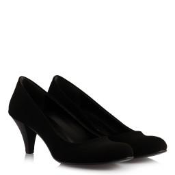 Черная Замшевая Обувь На Каблуках