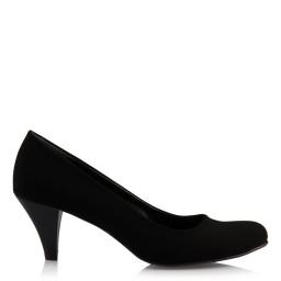 Topuklu Ayakkabı Siyah Süet