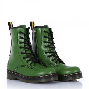 Düz Bot Bağcıklı Yeşil Renk