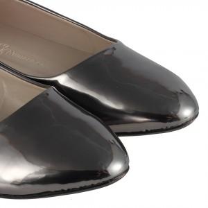 Babet Ayakkabı Füme Ayna Sivri