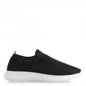 Spor Ayakkabı Streç Çorap Siyah