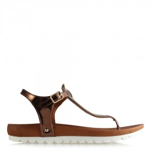 Taşlı Sandalet Bakır Modeller