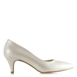 Sedef Renk Stiletto Gelin Ayakkabısı